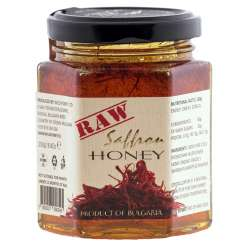 Raw Saffron Honey