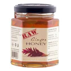 Raw Ginger Honey